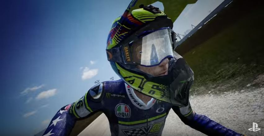 Valentino Rossi The Game Motocross