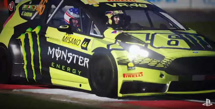 Valentino Rossi The Game Rallye