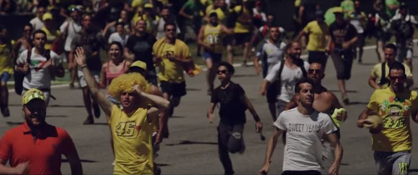 Fans de Rossi