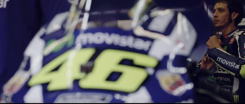 Rossi et casque numéro 46
