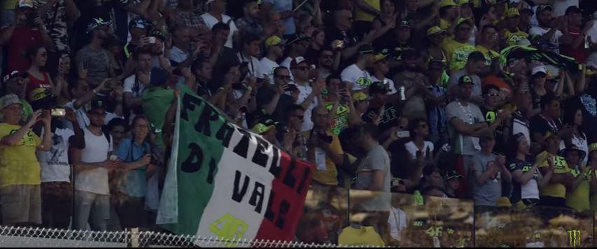 Fans italiens Rossi