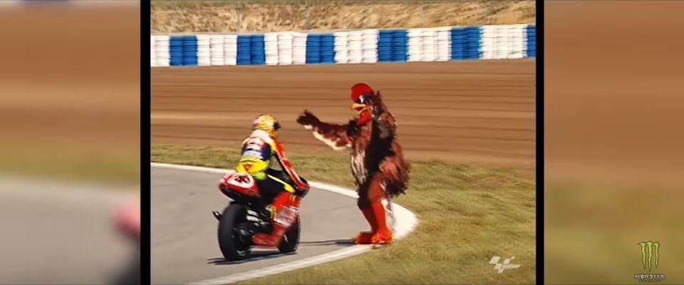 Valentino Rossi gag mascotte