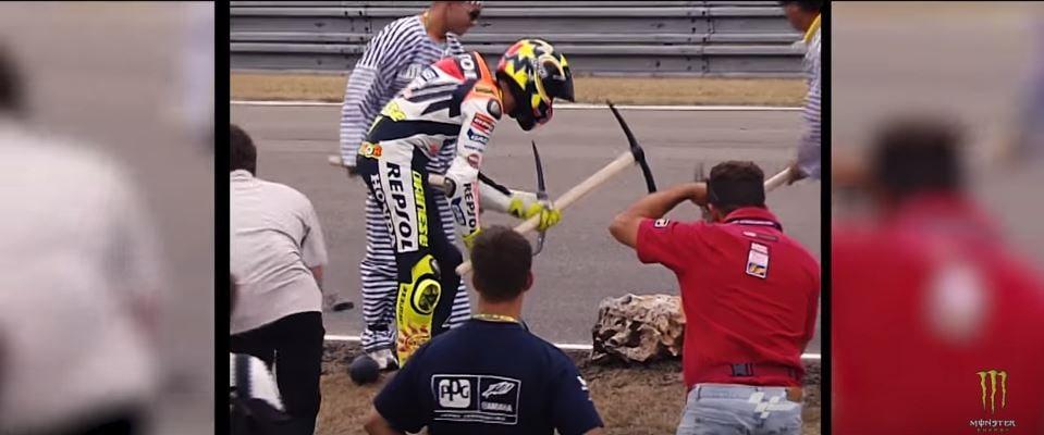 Valentino Rossi gag