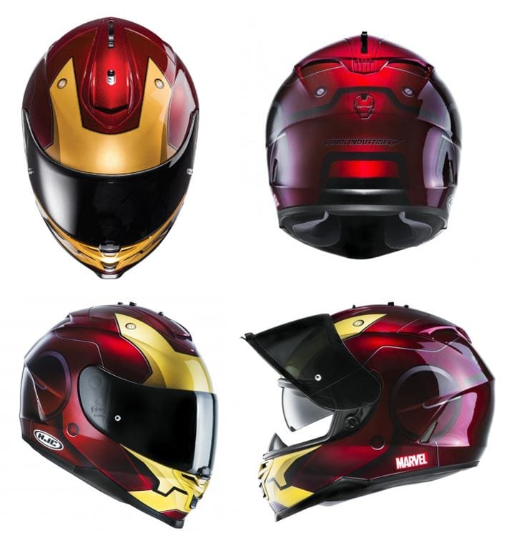 Casque HJC IS-17 Iron Man