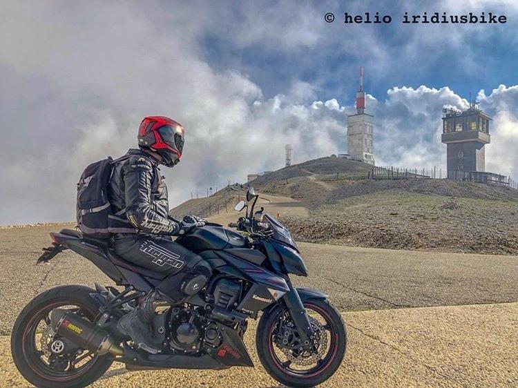 Le Mont ventoux à moto
